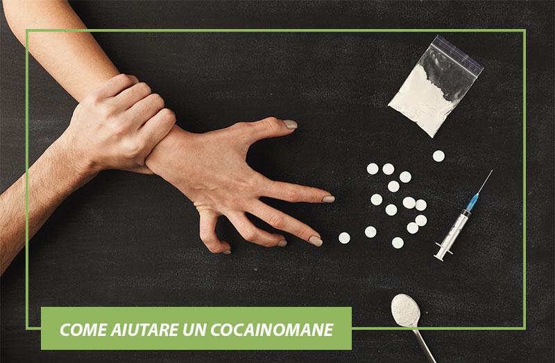 Come aiutare un cocainomane